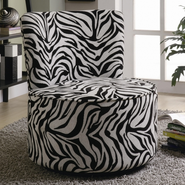 Cozy Round Swivel Chair Coaster Accent Seating Photo 06