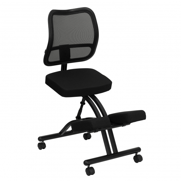 Ergonomic Kneeling Chair Flash Furniture Wl 3520 Gg Mobile Image 60