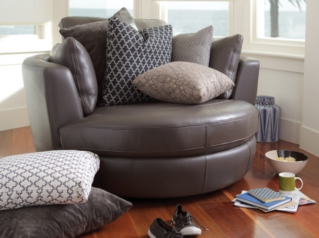 Fabulous Round Swivel Chair Cuddle Chair Big Picture 52