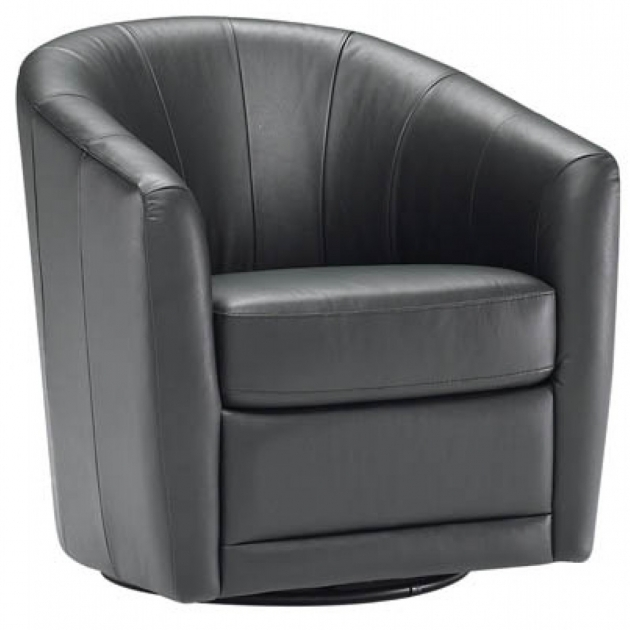 Leather Chair Leather Swivel Chair Chrome Base Picture 78