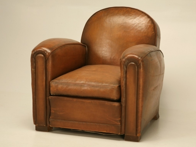 Leather Club Chair French Photos 28
