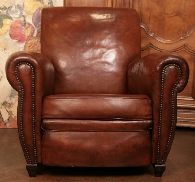Leather Club Chair Furniture Image 30