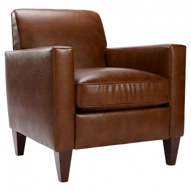 Leather Club Chair Homeware Rolly Saddle Accent Chairs Photo 29