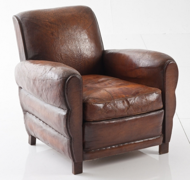 Leather Club Chair Stylish And Comfortable Photos 17