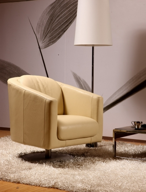 Modern Swivel Chair Real Leather Pics 17