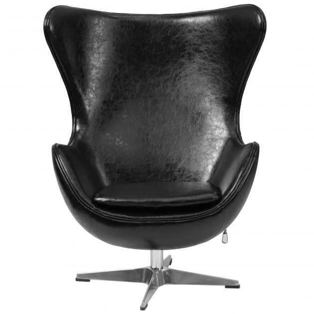 Modern Swivel Chair Wade Logan Leather Tilt Lock Mechanism Lounge Chair Photos 56