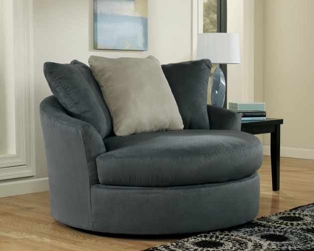 Oversized Swivel Chair Round Living Roomgray Pics 52
