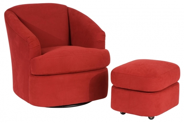 Swivel Barrel Chair Contemporary Ideas And Ottoman With Casters Images 58