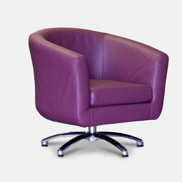 Swivel Barrel Chair Cool Purple Design Trendy Photos 61