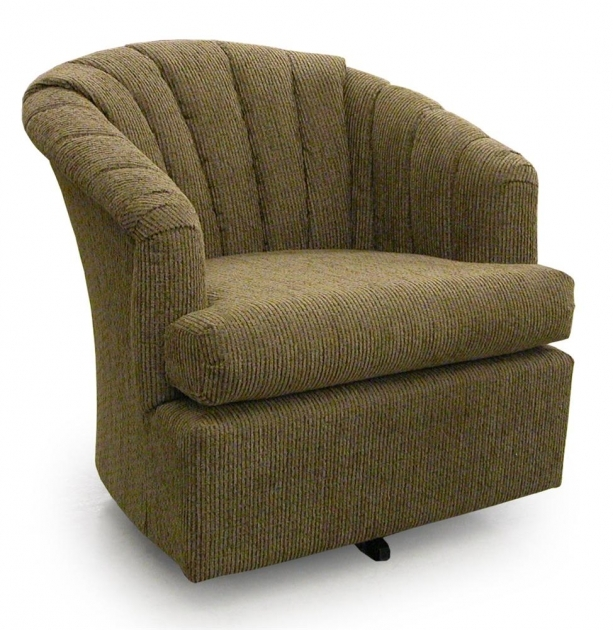 Swivel Barrel Chair Home Furnishings Elaine Photo 11