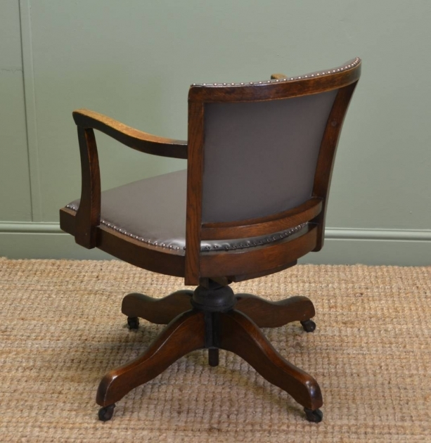 Swivel Desk Chair Oak Home Inspiration Ideas Pictures 92