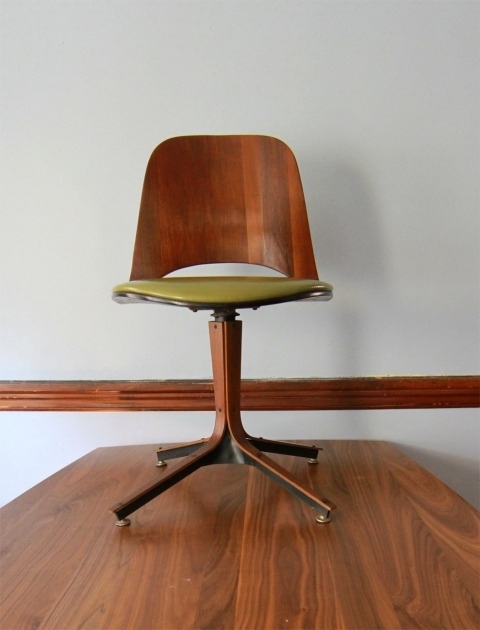 Swivel Desk Chair Plycraft Mid Century Modern Ideas Image 81