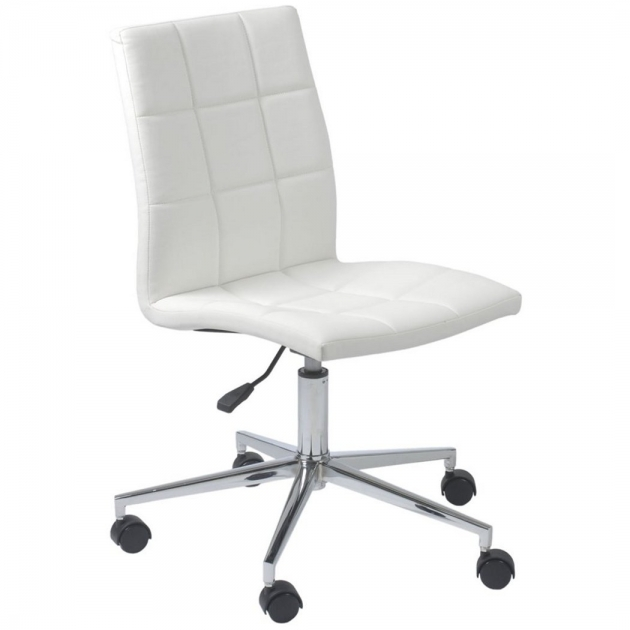 Swivel Desk Chair White Stylish Furniture Photos 59