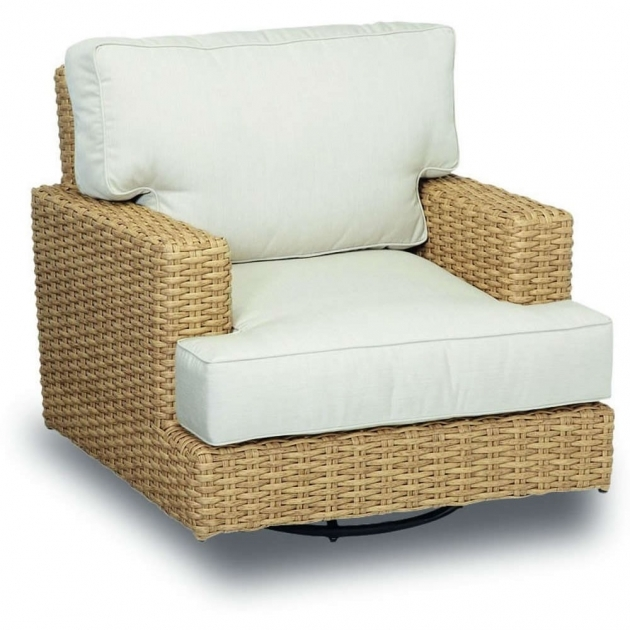 Swivel Rocker Chair Sunset West Leucadia Wicker Swivel Rocking Club Chairs Image 78