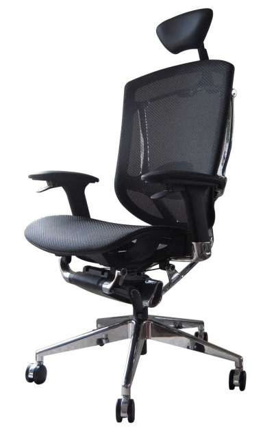 Adjustable Black Ergonomically Correct Chair Images 46