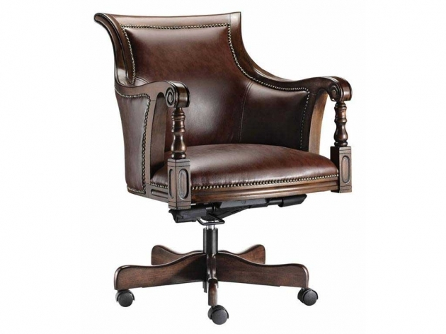 Adjustable Durable Stylish Wooden Swivel Desk Chair Low Maintenance Images 50