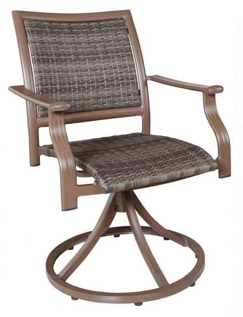 Armchair High Back Swivel Rocker Patio Chairs Photo 77