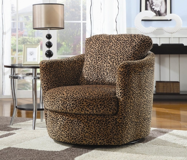 Coaster Coaster Accents Swivel Upholstered Chair Leopard Image 37