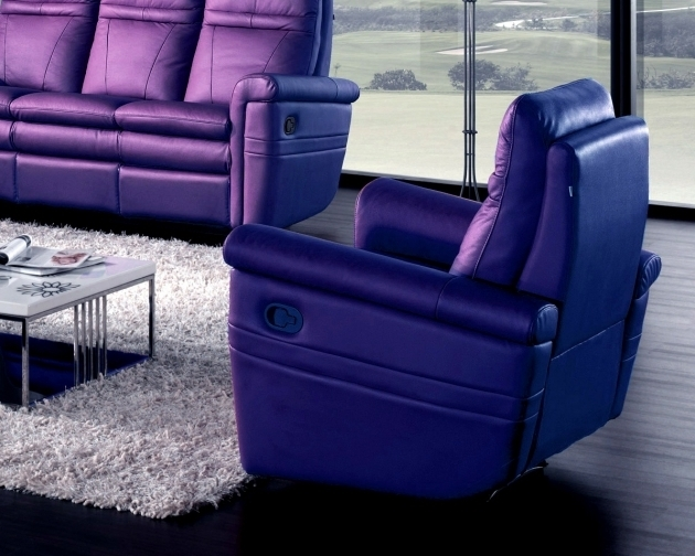 Coaster Swivel Chair  Purple Leather Recliner Chair Dark Purple Seater Pictures shoshuga 14