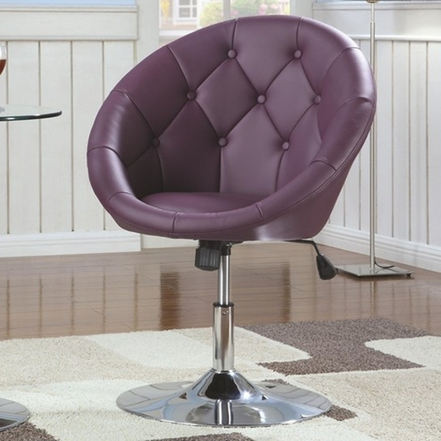 Coaster Swivel Chair Purple Leather Sofa Images shoshuga 23