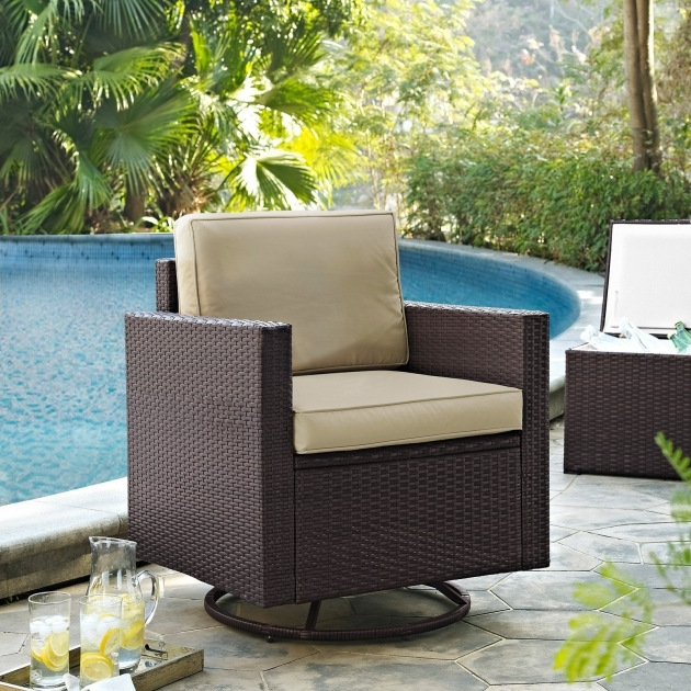 Coral Coast Berea Wicker Outdoor Swivel Chairs Pictures 81