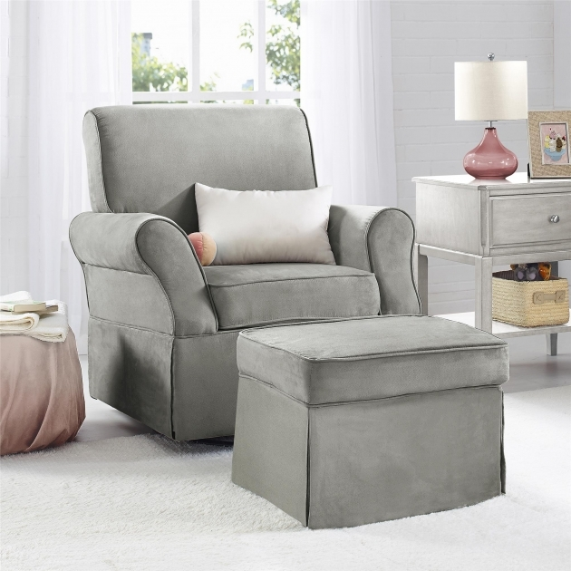 Dorel Living Relax Kelcie Swivel Glider And Ottoman Set Gray Swivel Upholstered Chair Images 39