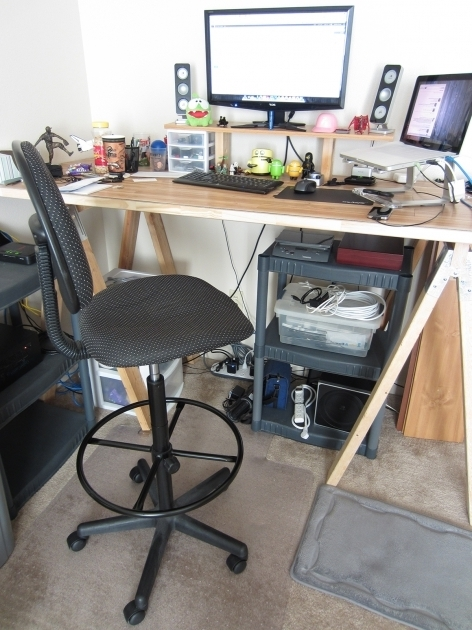 Drafting Stool Tall Office Chairs For Standing Desks Photos 49