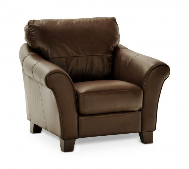 Espresso Leather Swivel Upholstered Chair With Sock Armrest And Brown Image 91