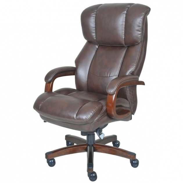 Fairmont Big And Tall Comfortcore Traditions Bonded La Z Boy Executive Office Chair Images 16