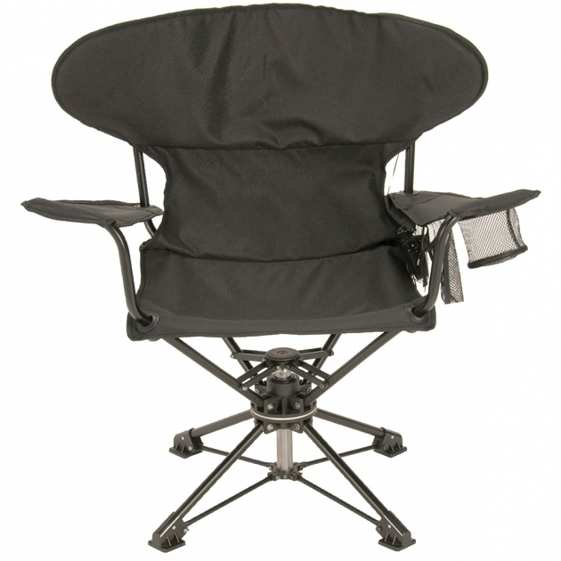 Banded Swivel Hunting Chair With Backrest Blind Chair Tall
