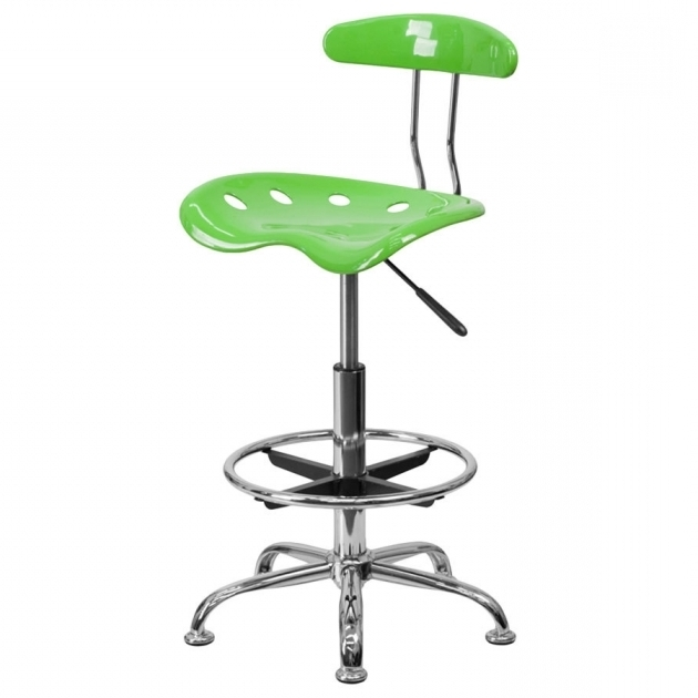 Green Drafting Stool Tall Office Chairs For Standing Desks Picture 22