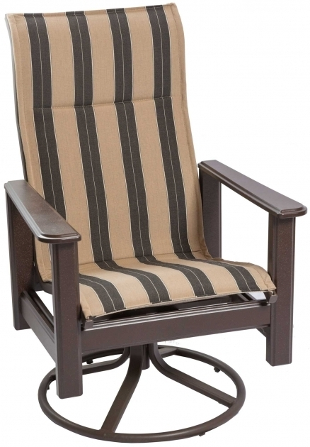 High Back Swivel Rocker Patio Chairs Outdoor Furniture  Picture 77