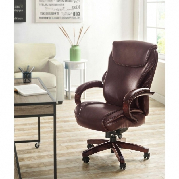 Hyland Comfortcore Traditions Air Technology Bonded La Z Boy Executive Office Chair Photo 46