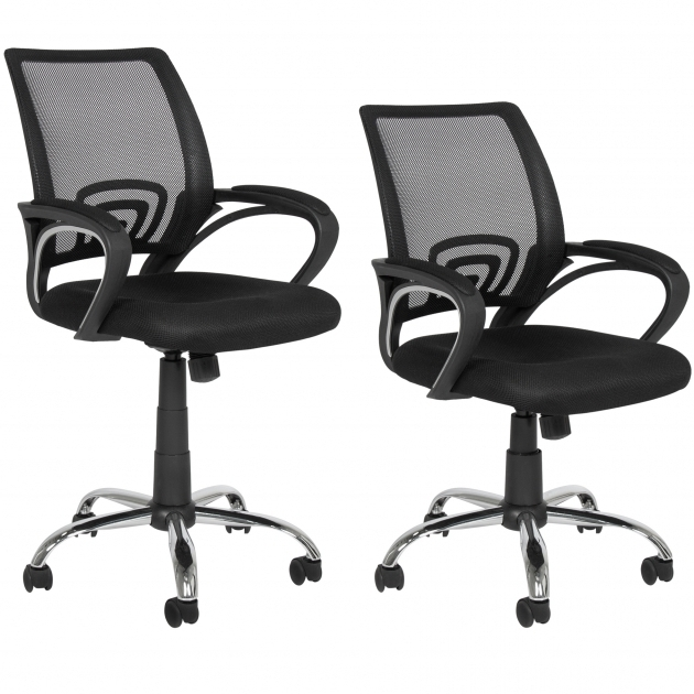 Mesh Ergonomic Office Chair Desk Task Midback Photo 37