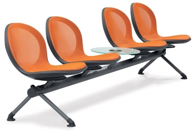 Office Waiting Room Chairs Orange Anti Microbial Vinyl Upholstery Backrest And Seat Reception Chairs Image 61