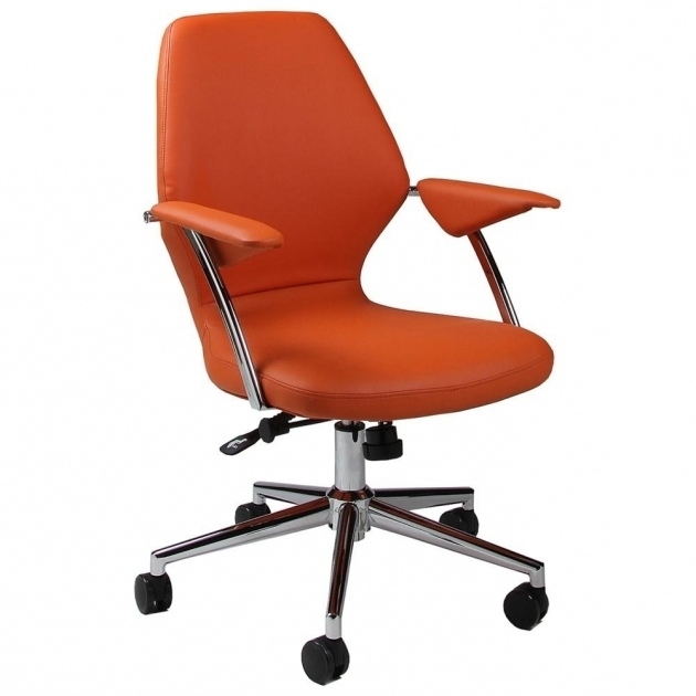 Orange Office Chair  Interior Trend Best Colored Office Chairs Photo 87