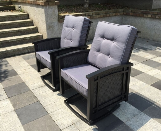 Outdoor Swivel Chairs Grey Leather Photos 84
