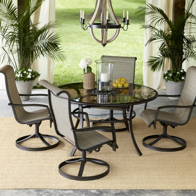Outdoor Swivel Dining Chairs Furniture Ideas  Images 45