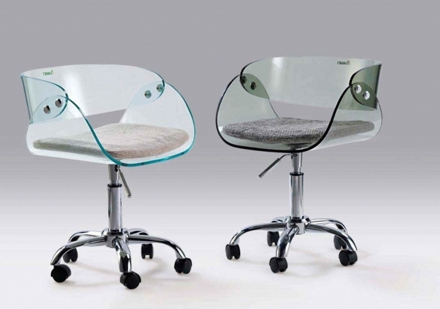 Unique And Modern Armless Office Chairs With Wheels Photo 86