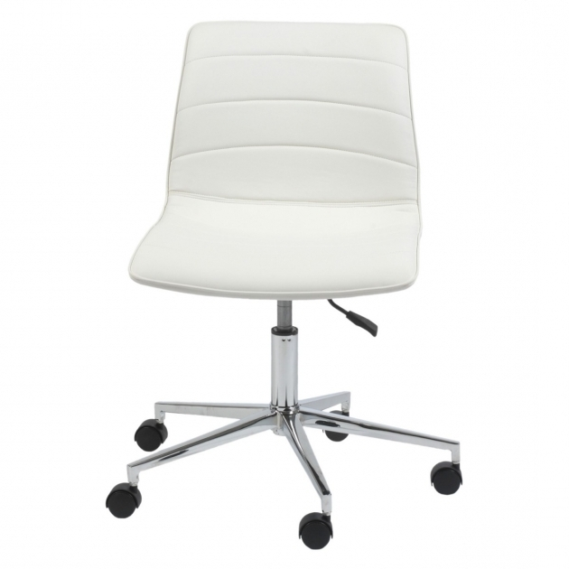 White Armless Office Chair Design Ideas Photo 60