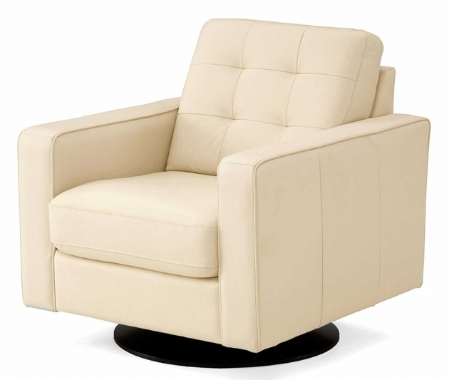 White Leather Club Chairs Swivel Images 14