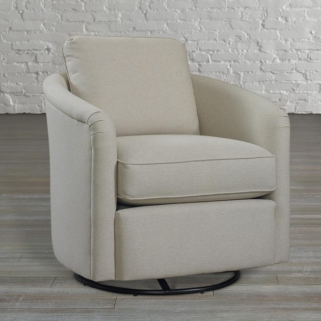 White Traditional Glider Chairs Swivel Upholstered Chair Image 83