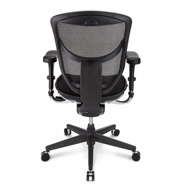 Workpro Commercial Mesh Back Executive Chair Black Quantum Series Ergonomic Mesh Mid Back Chair 98
