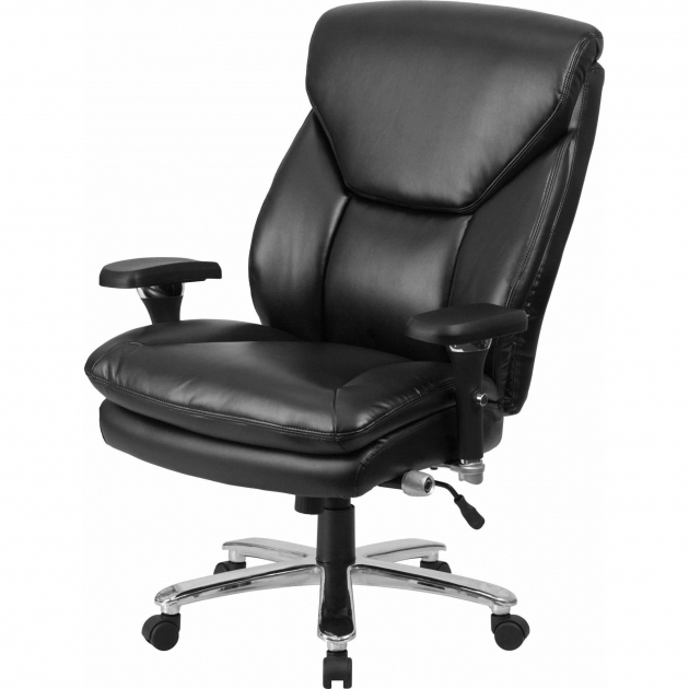500 Lb Office Chair Hercules Series Big And Tall With Arms Black Image 89