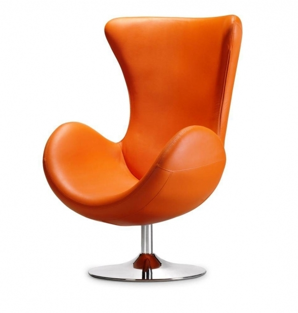 Arm Orange Swivel Chair Living Room Photo 41