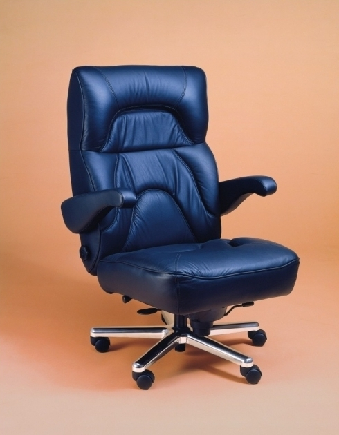 Black Leather Swivel Big And Tall Office Chair 500 Lbs Capacity Design With Dark Blue Color Wheels And Steel Leg Ideas Pictures 44