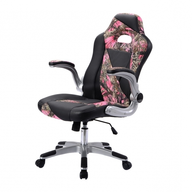 Camo Office Chair Pu Leather High Back Executive Office Desk Task Computer Chair Image 42