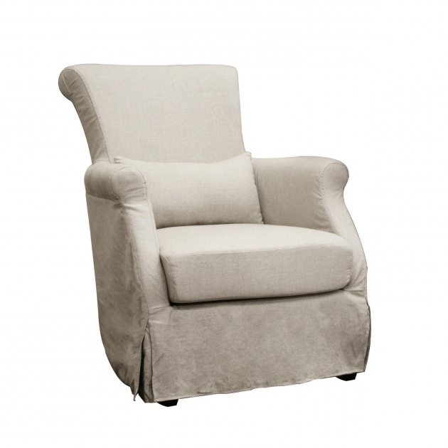 Club Chair Slipcovers Carradine Beige Linen Modern L13077154 Picture 24