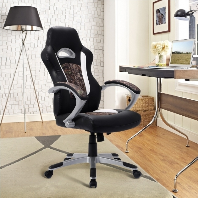 Cool Camo Office Chair Modern Leather High Back Executive Office Desk Picture 97