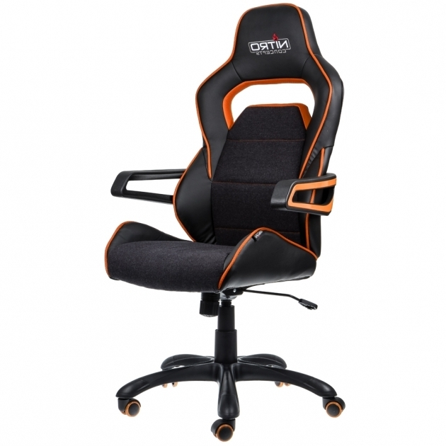 E220 Evo Comfortable Office Chairs For Gaming Black Orange Nitro Concepts Picture 36